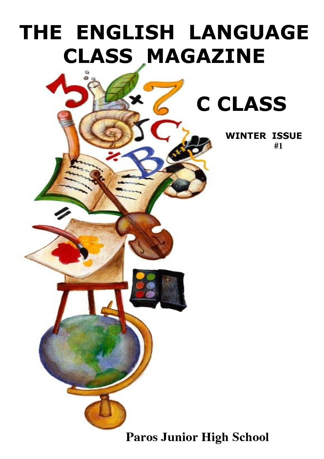 calaméo - the english language class magazine # 1