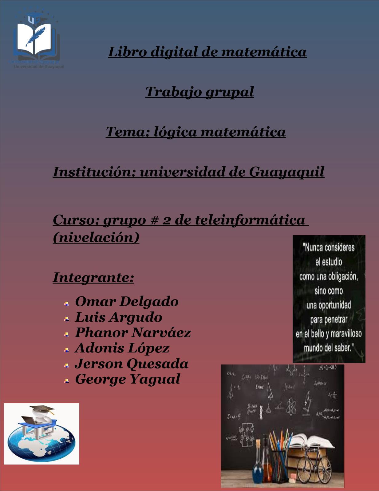 Libro Digital De Matemática