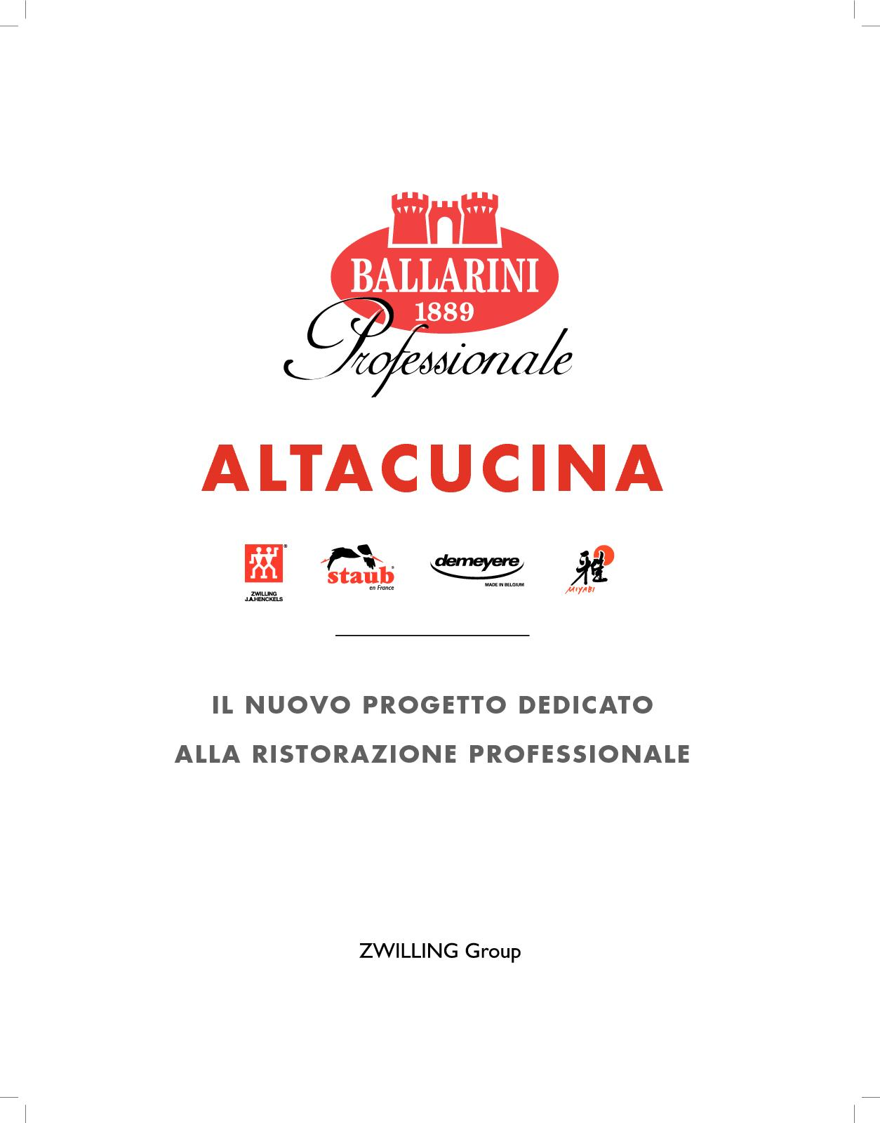 Catalogo Completo Zwilling Group 2018 2019