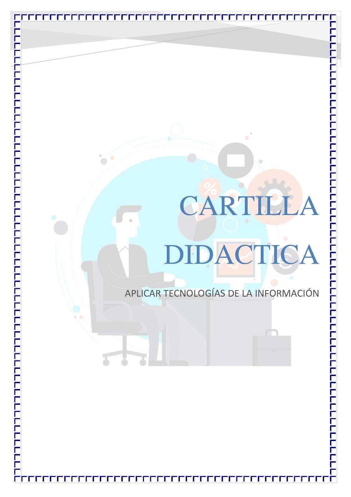 Calaméo - Cartilla Didactica Tic