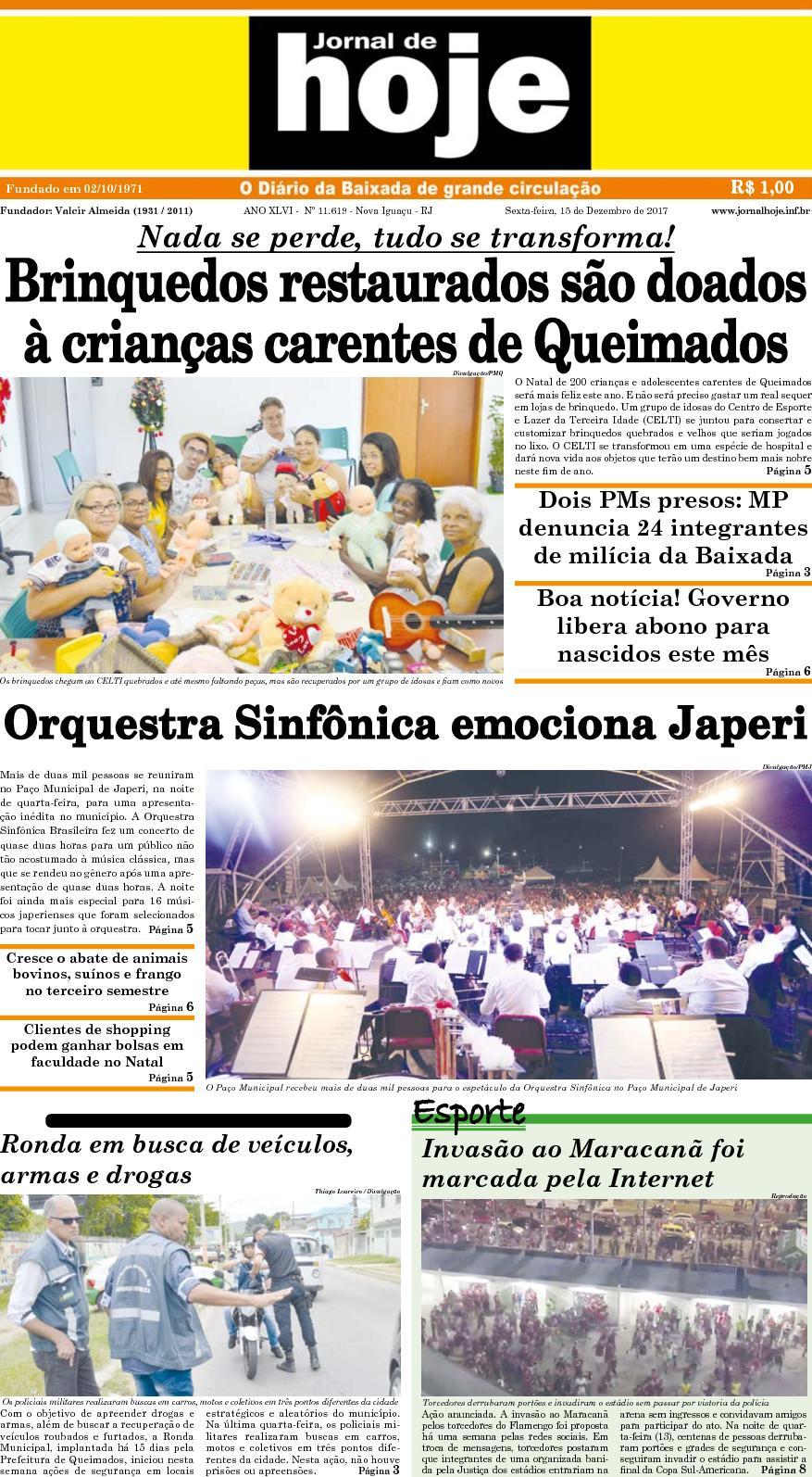 Jornal De Hoje 151217