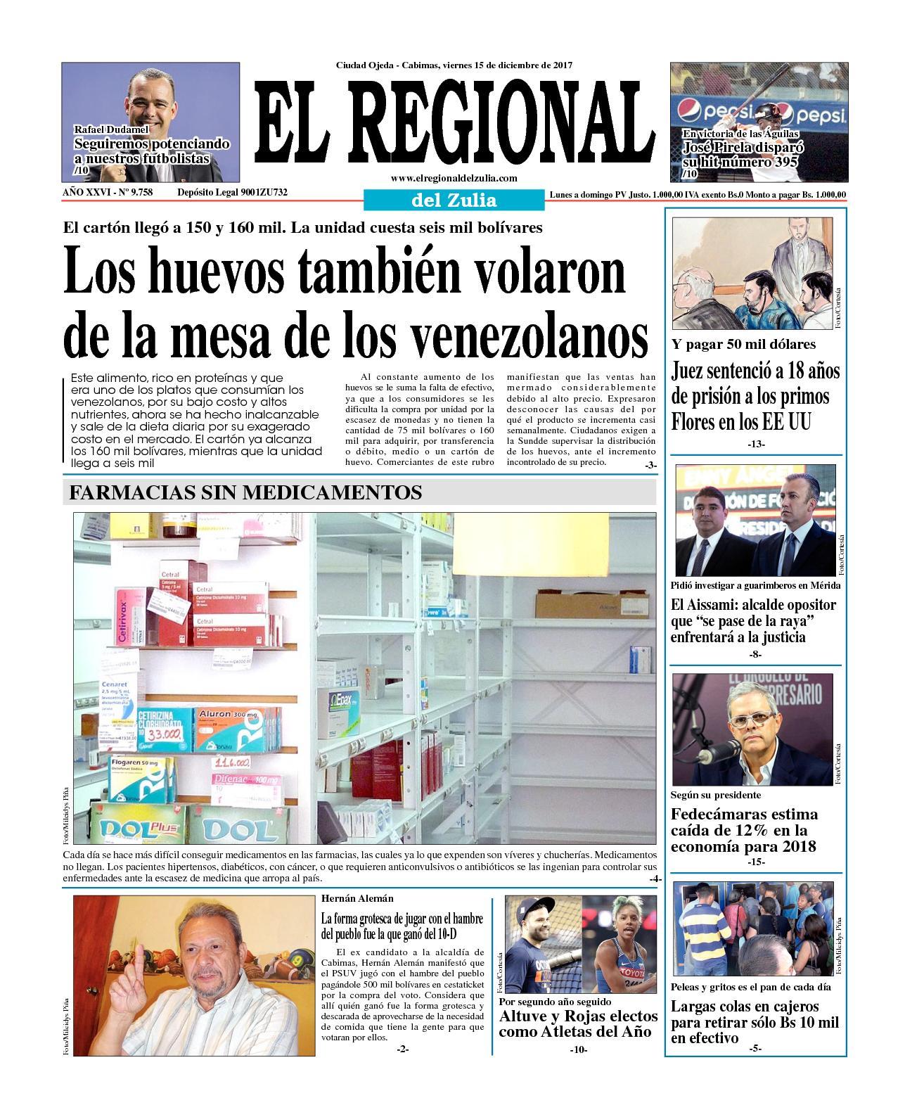 El Regional del Zulia 15-12-2017