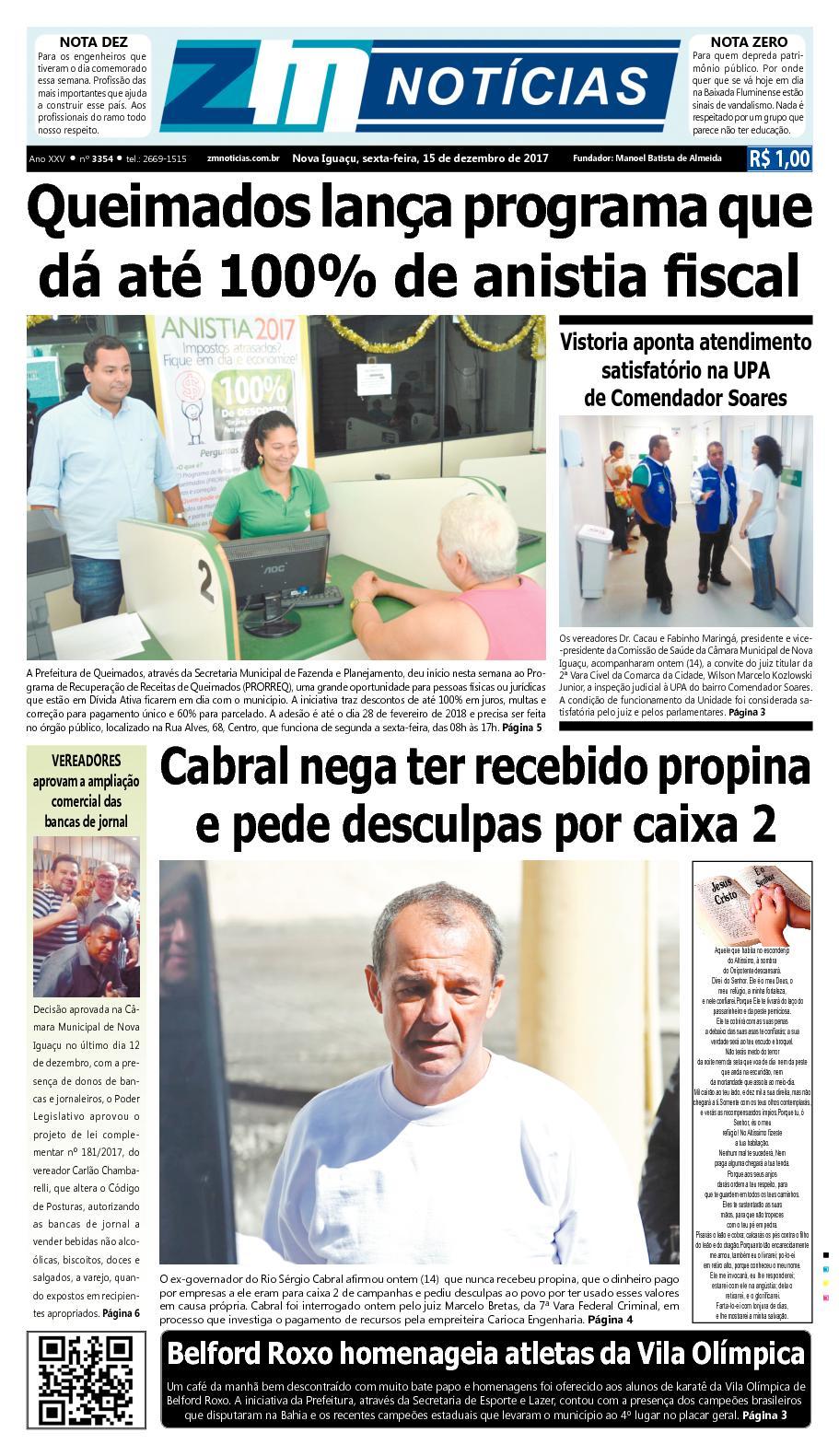 ZM Noticias - Edição 151217