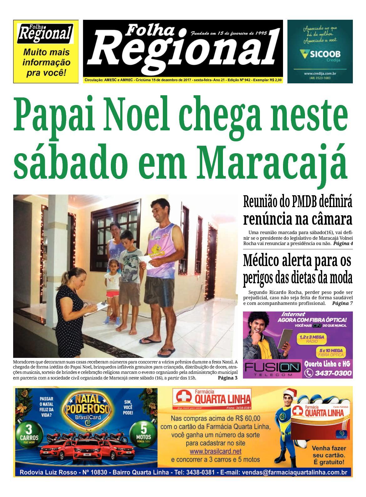 Folha Regional Ed.944 - 15/12/2017