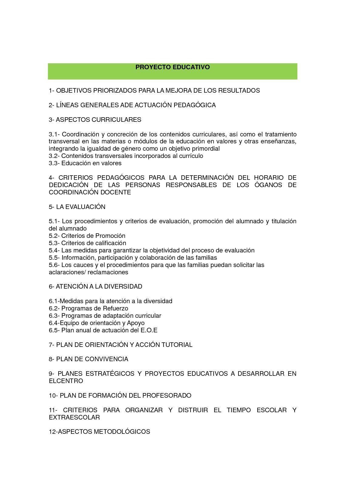 Calaméo - CEIP La Unión: Proyecto Educativo 17/18