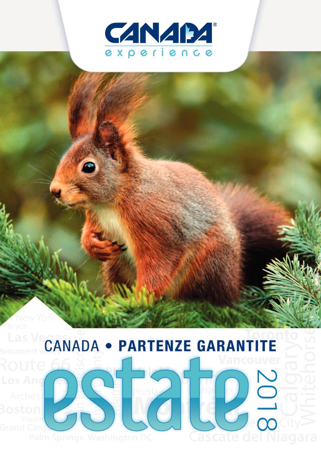 Canada Experience® Partenze Garantite 2018