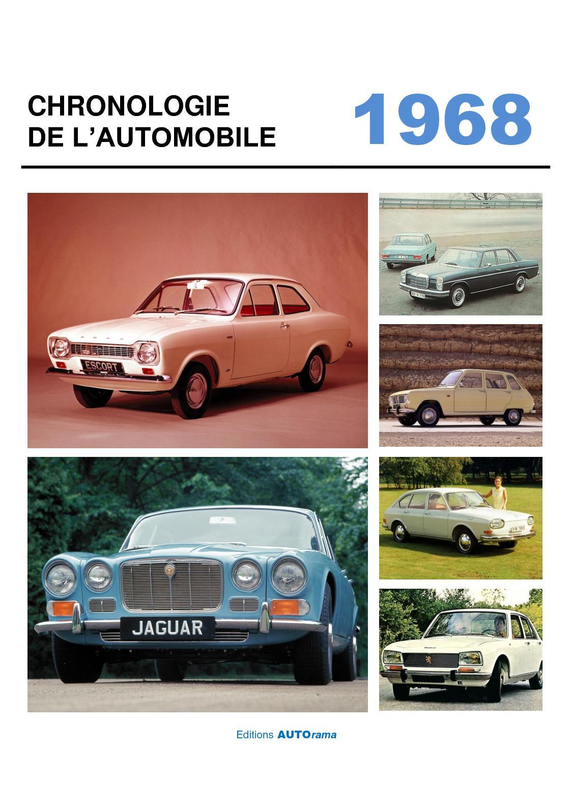 Chronologie de l'automobile - 1968