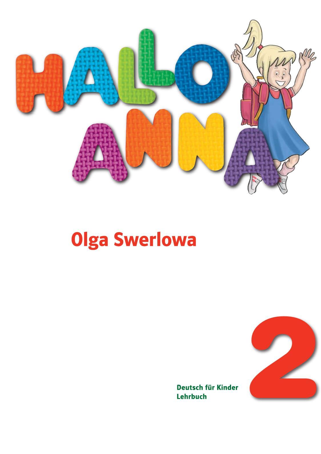 Hallo Anna 2 Kursbuch