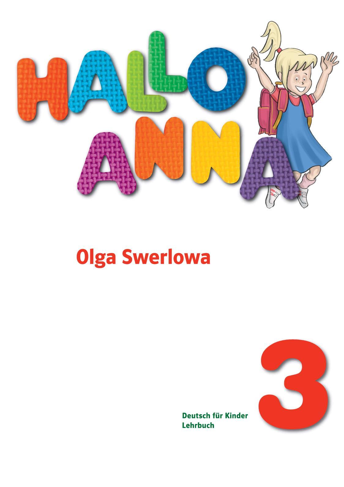 Hallo Anna 3 Lehrbuch