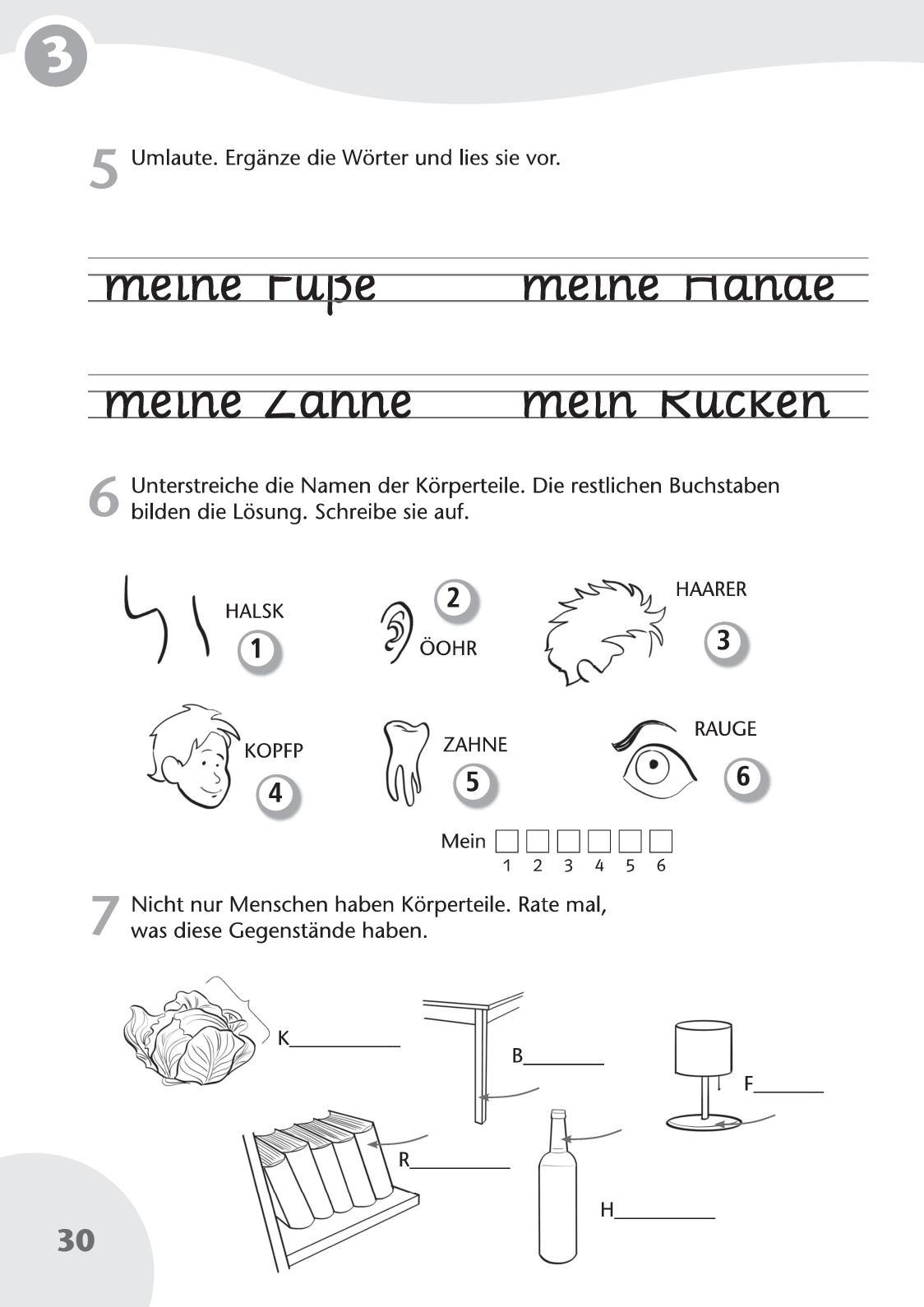 Fantastisch Anatomie Der Wörter Galerie - Physiologie Von ...