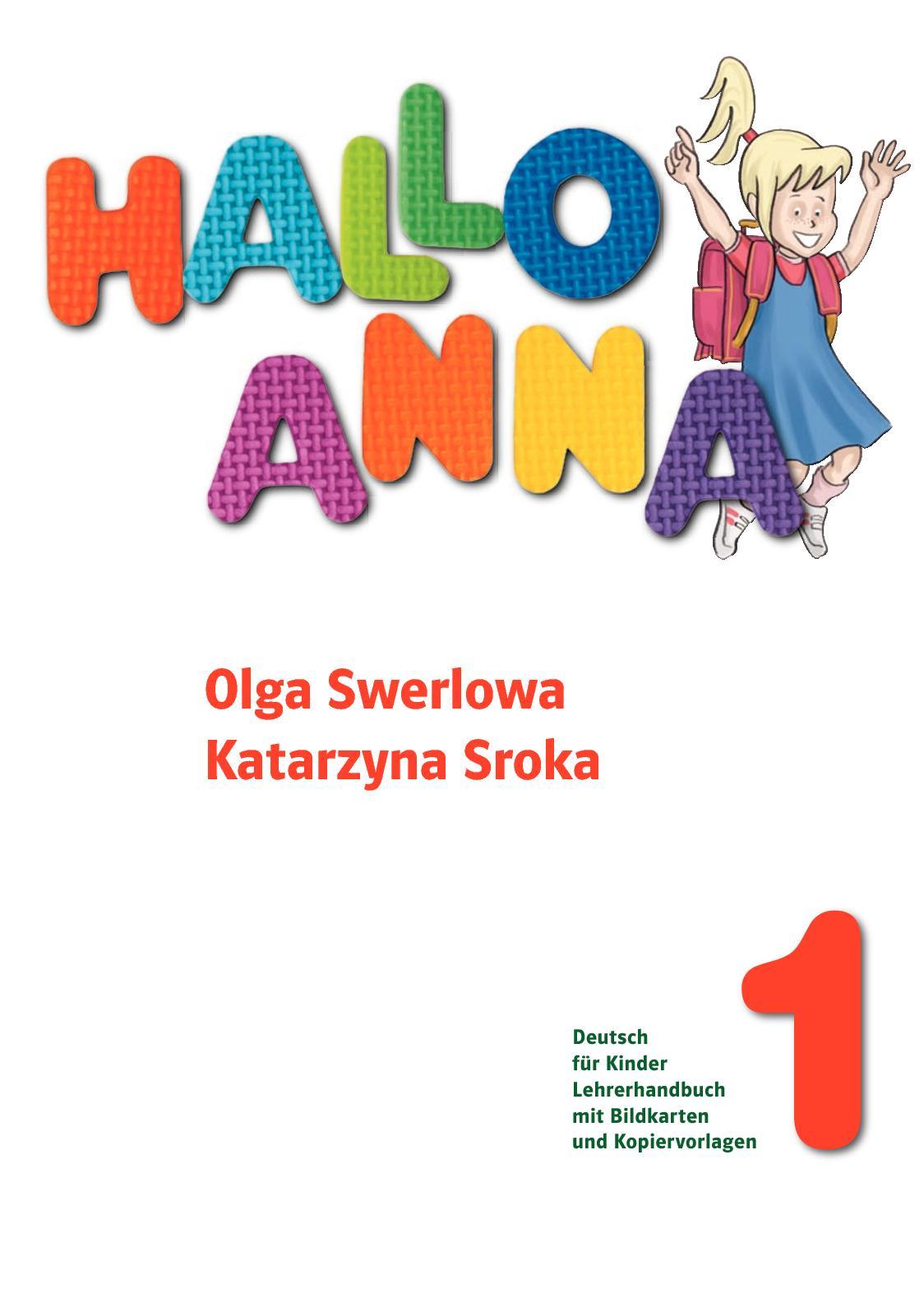 Calaméo - Hallo Anna 1 Lehrerhandbuch