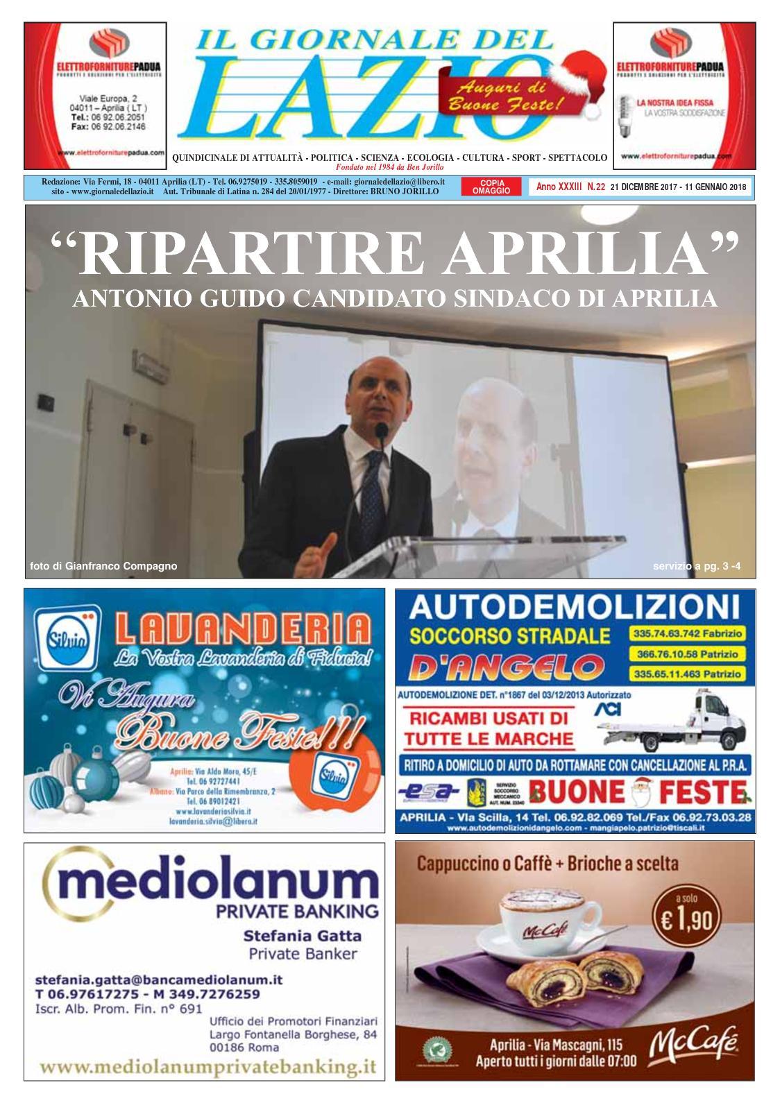 Calaméo - Giornale Del Lazio Uscita 21 Dicembre 2017 2b856344395