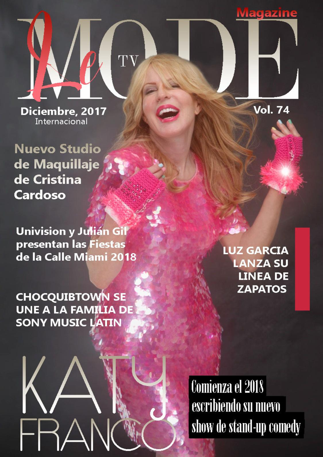 Calaméo - Le Mode Tv Magazine Katy Franco