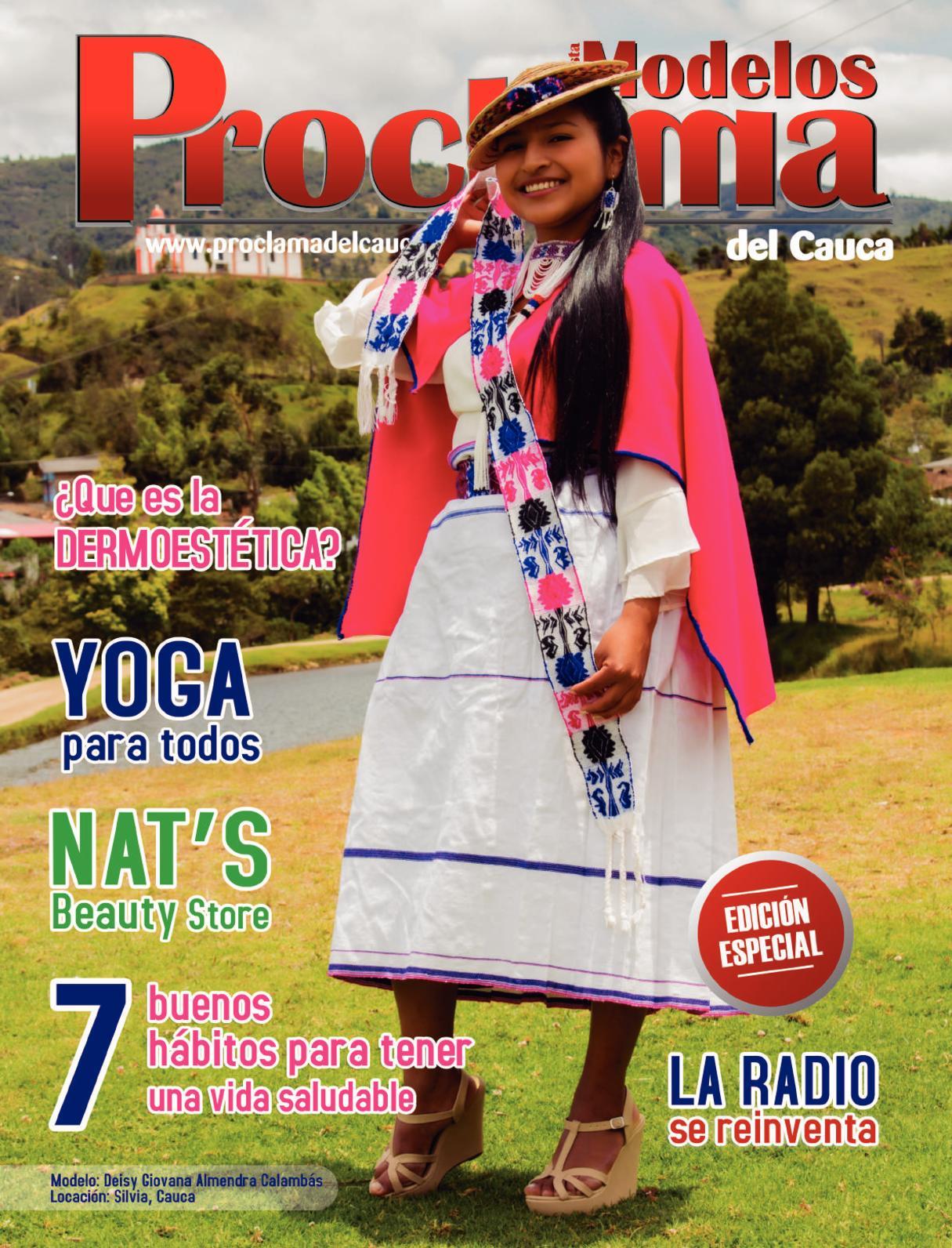 Revista Modelos Proclama del Cauca 2017