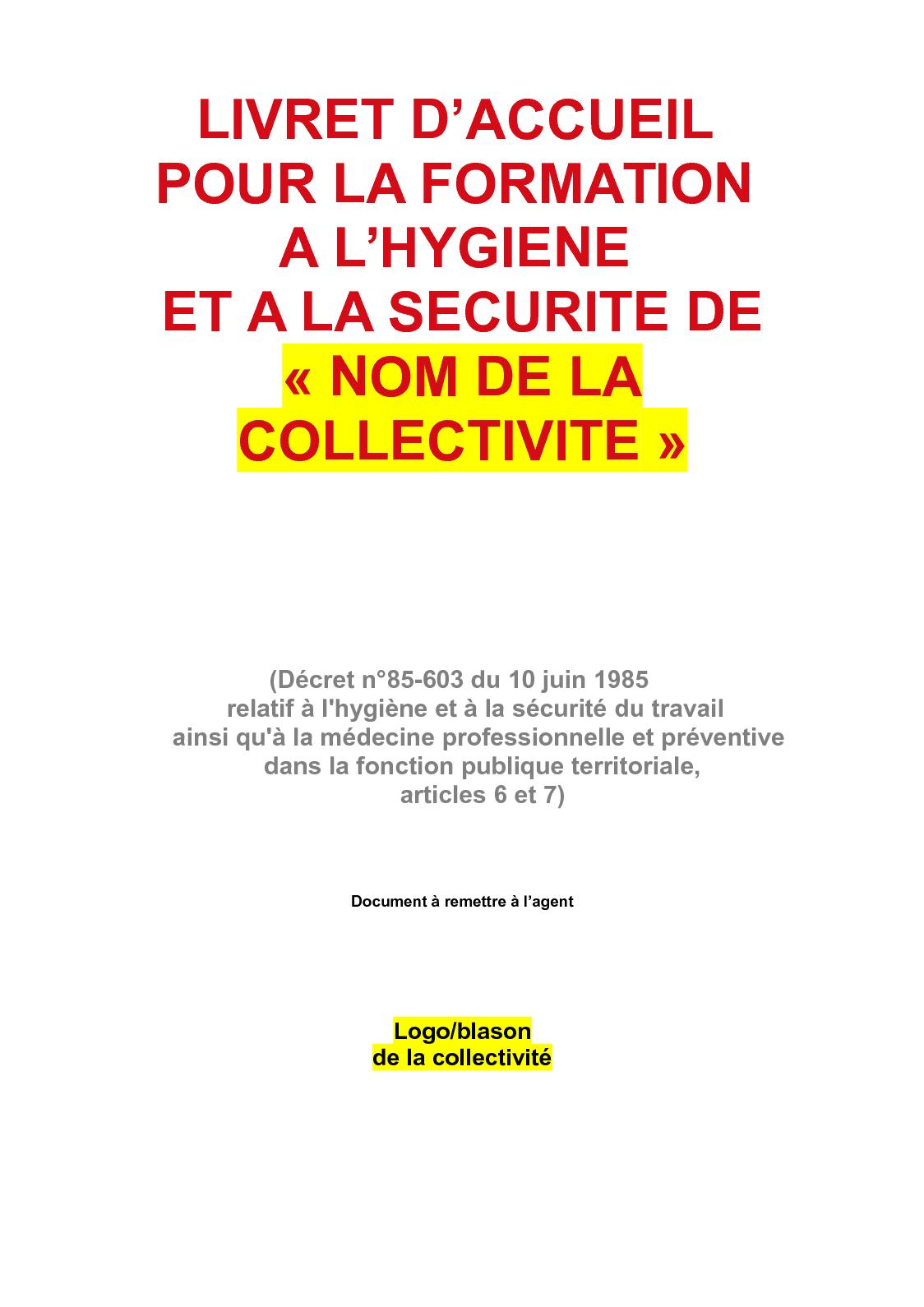 9acb411a47b Calaméo - 2 Livret D accueil Hygiène Sécurité (Compressé)