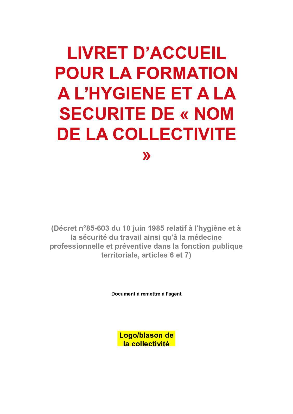 073f34ff456 Calaméo - 2 Livret D Accueil Hygiène Sécurité Compressé