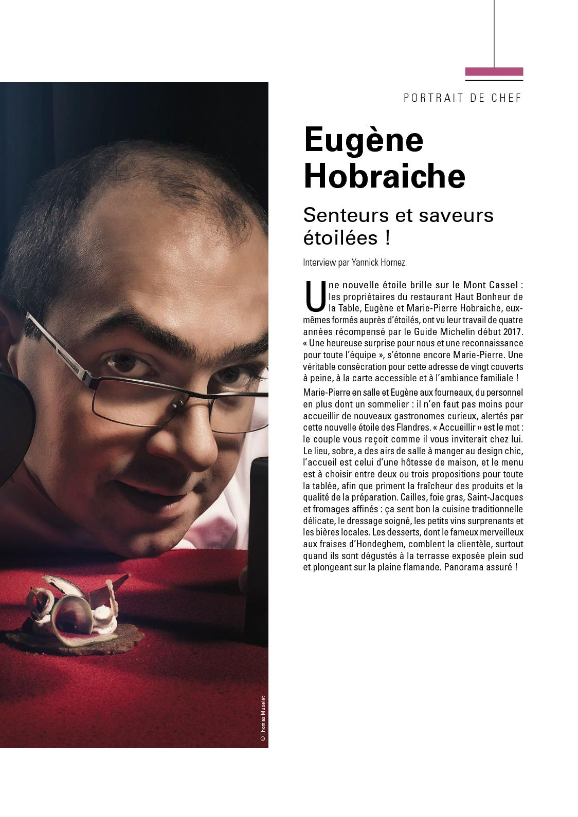 Calam o article eug ne hobraiche journal part 12 - Haut bonheur de la table cassel ...