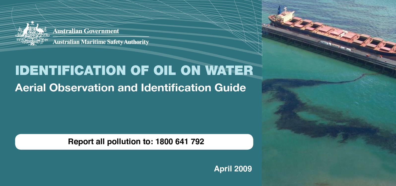 Calamo Identification Of Oil On Water