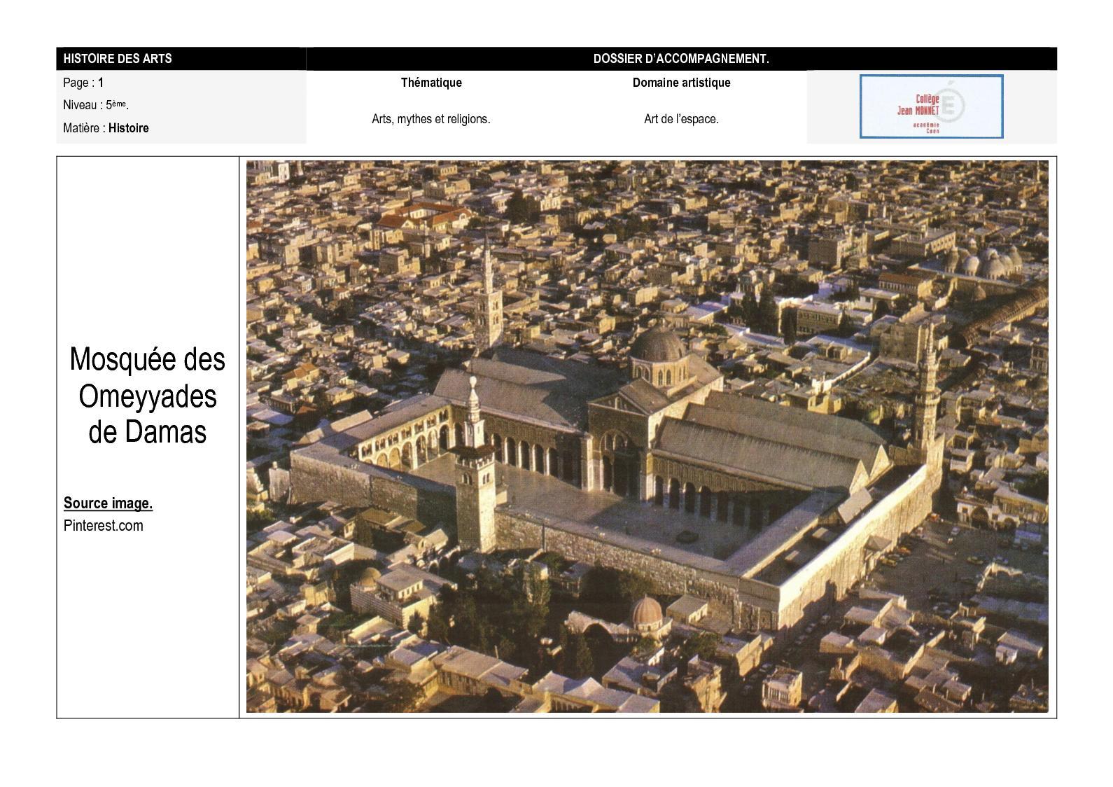 Mosquee de Damas