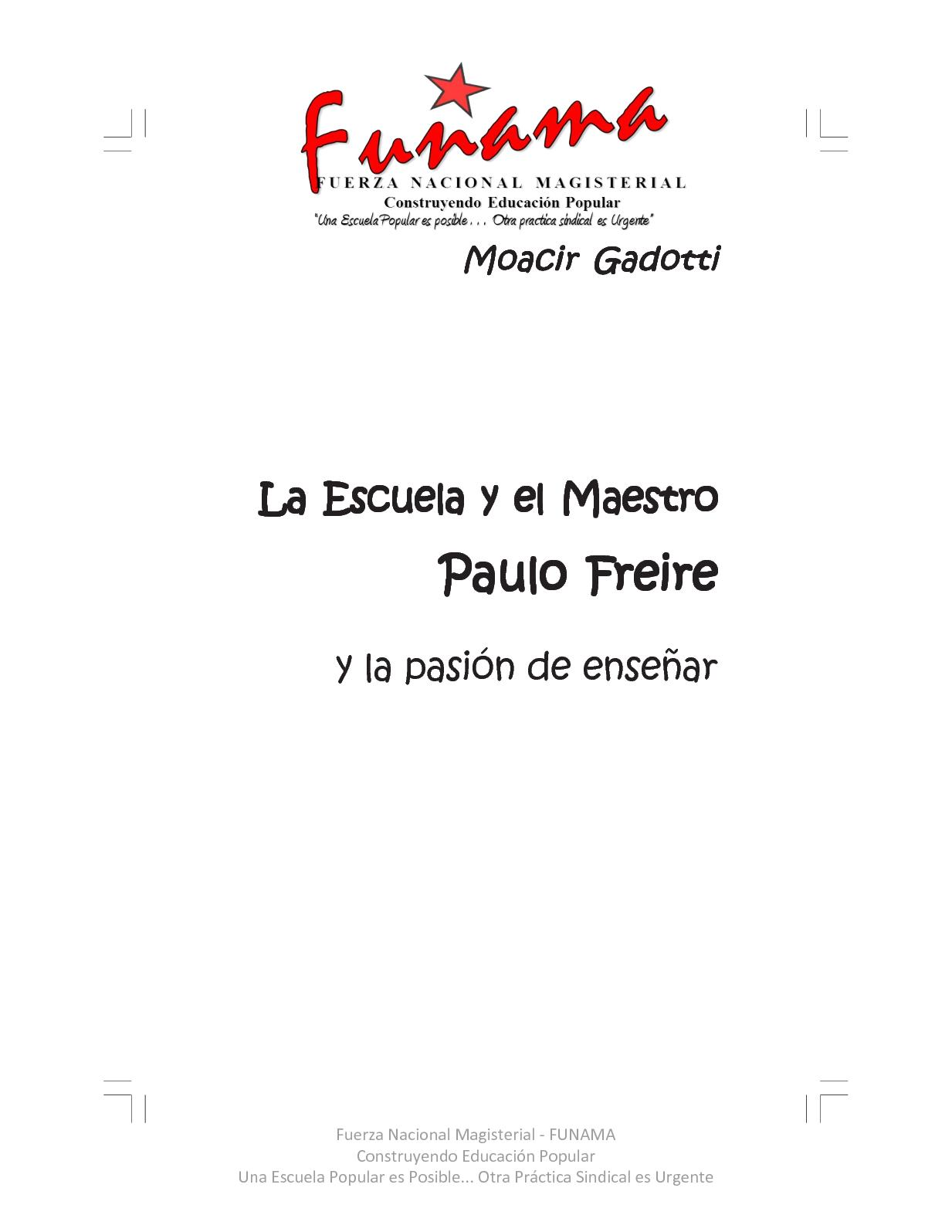 Calaméo - La Escuela Y El Maestro