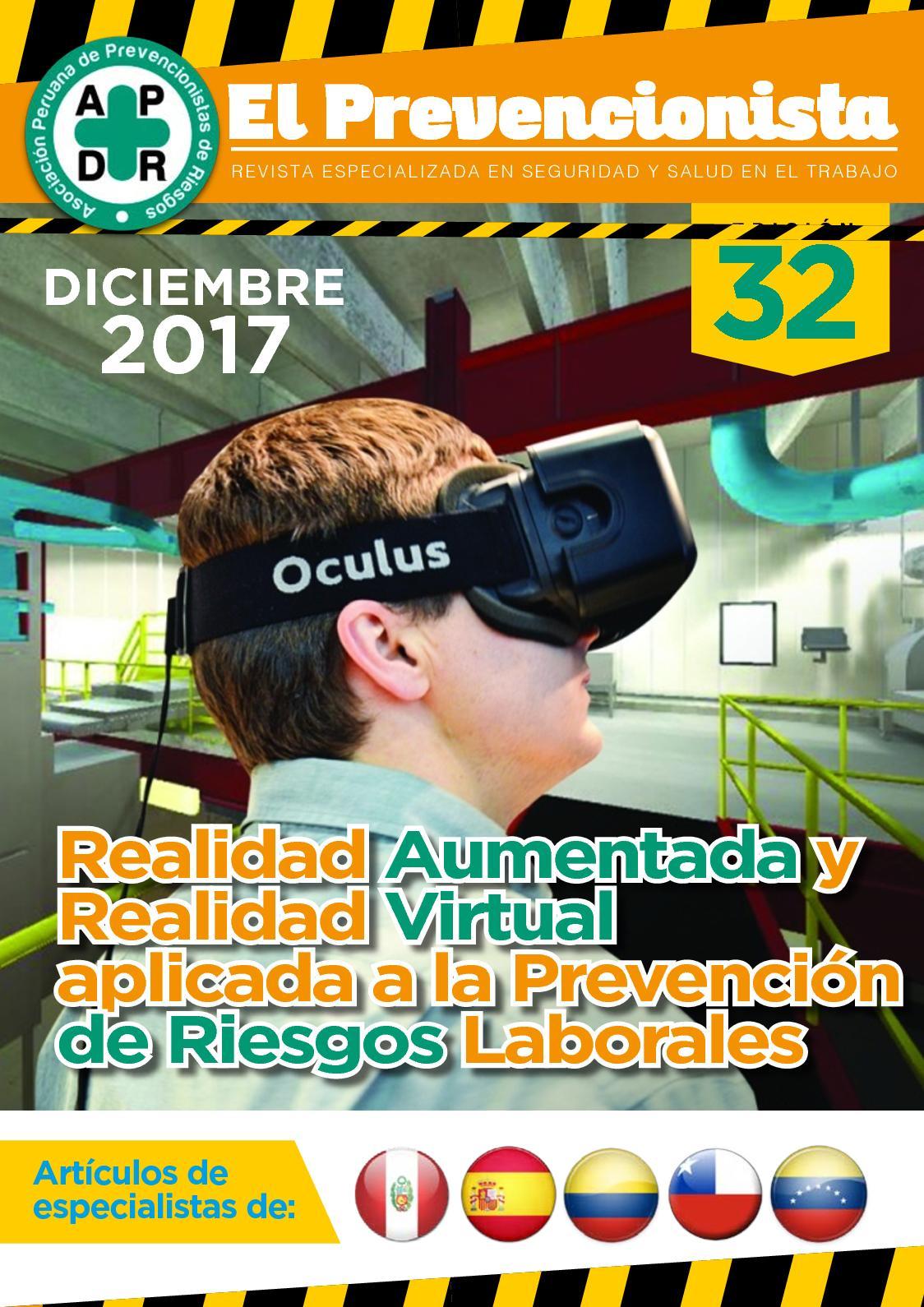 Revista El Prevencionista 32ava Edición
