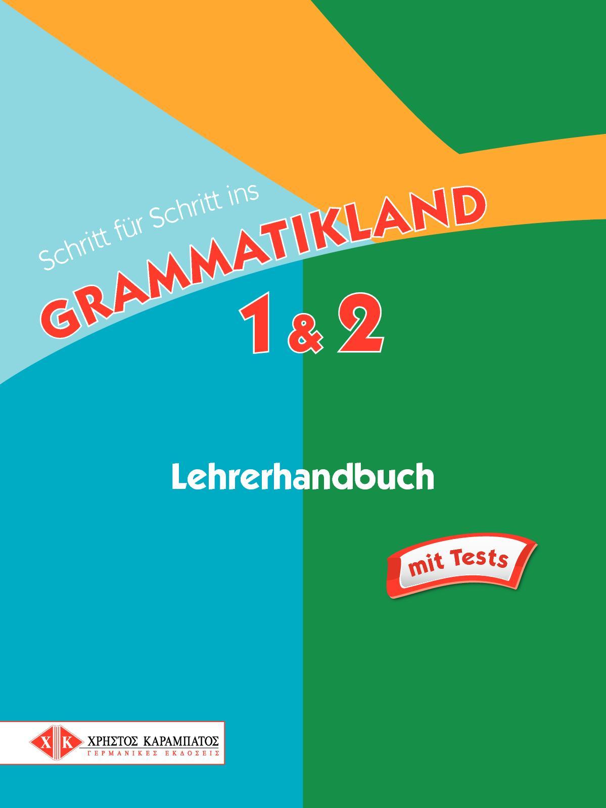 Calaméo - Schritt Für Schritt Ins Grammatikland 1-2