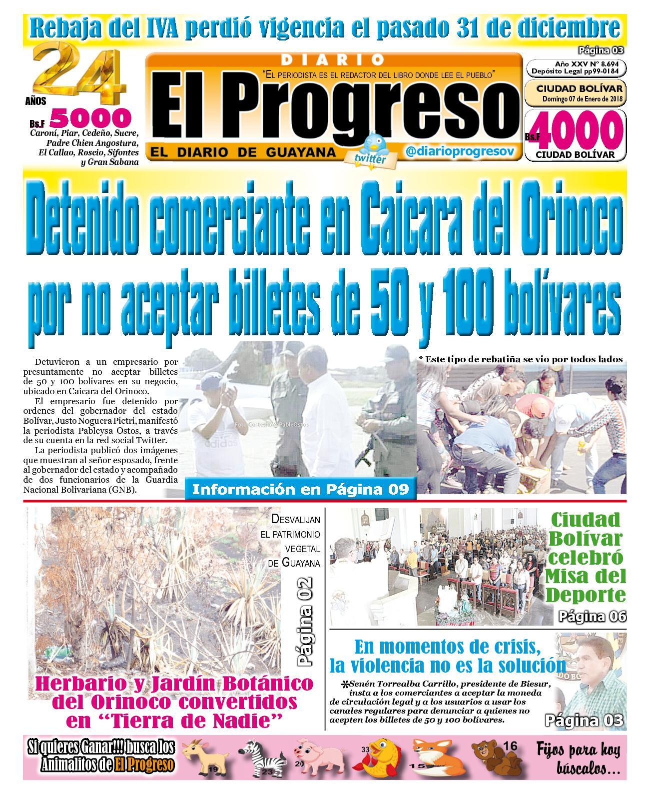 Diarioelprogreso2018 01 07