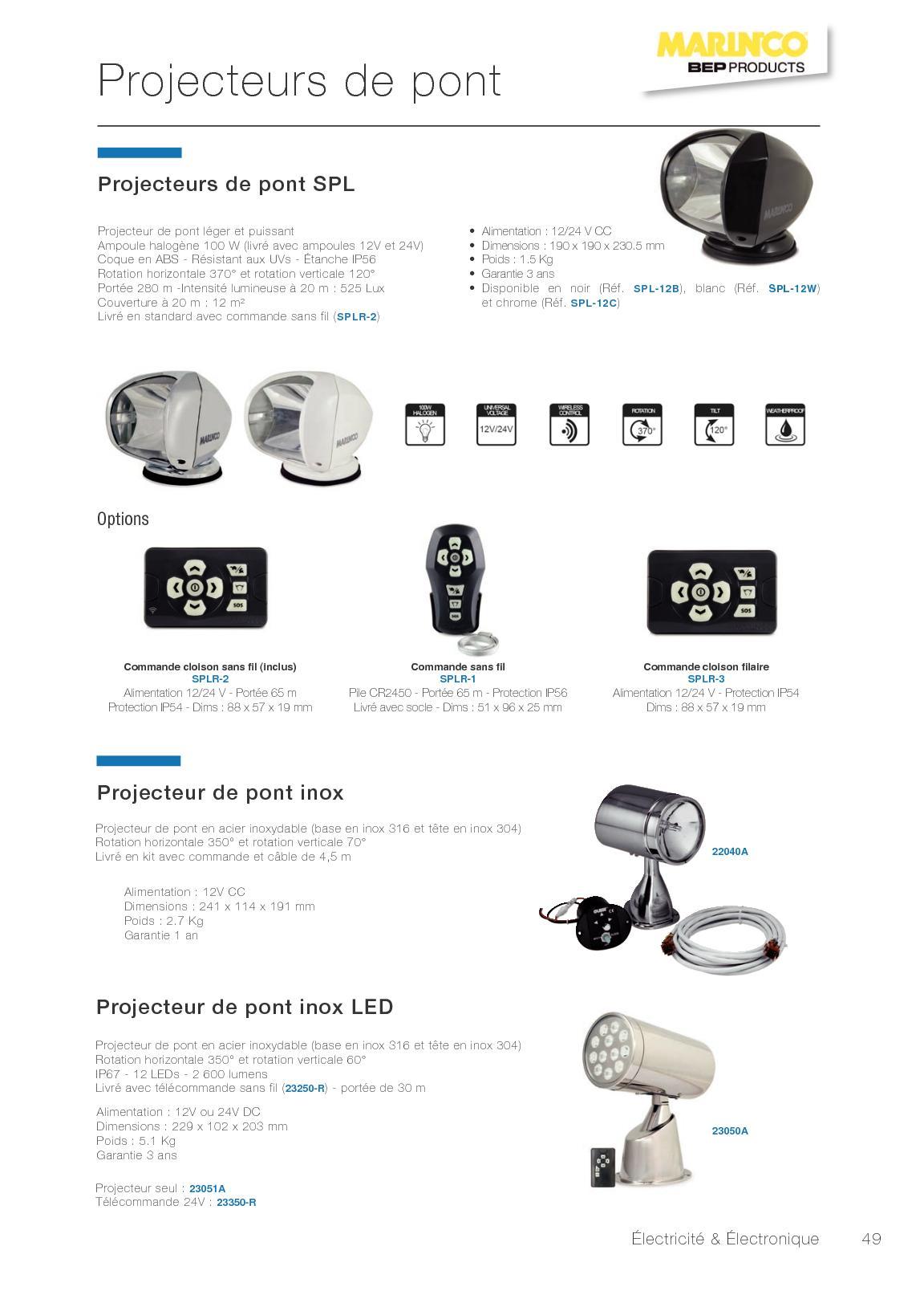 Catalogue 2018 Calameo Downloader Marinco 24 Volt Wiring Diagram Page 49