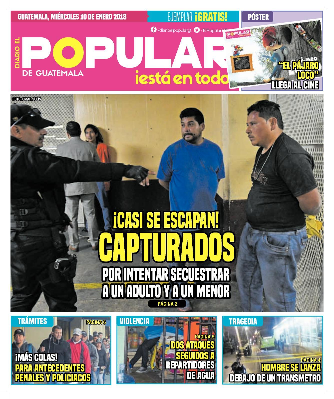 EL POPULAR GUATEMALA 10012018