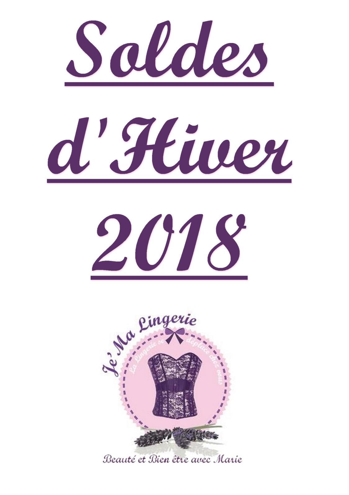 Je'Ma Lingerie Soldes Hiver2018