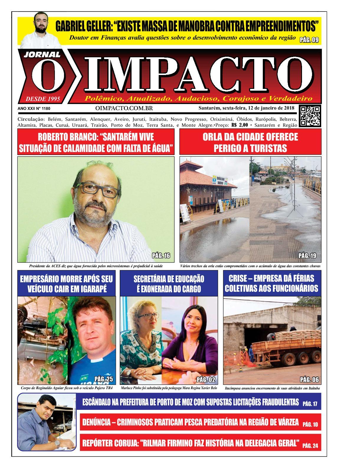 Jornal O Impacto Ed. 1180