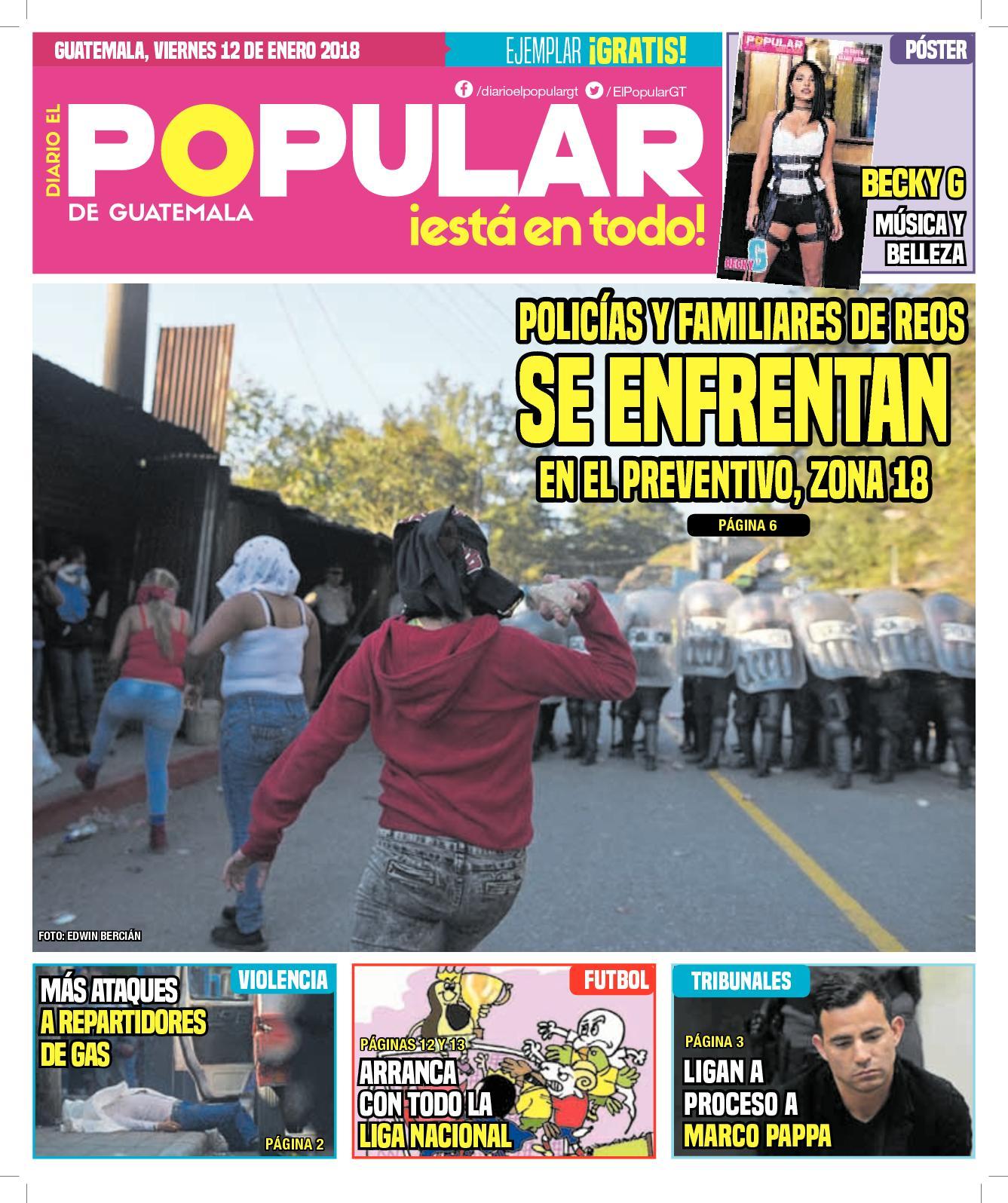 EL POPULAR GUATEMALA 12012018