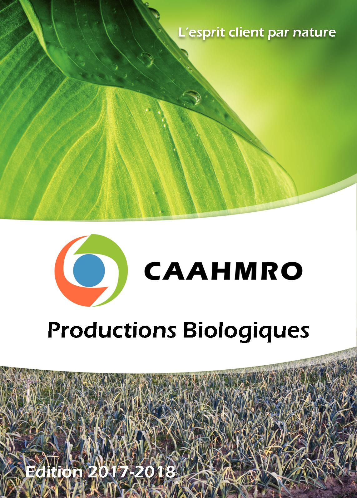 Catalogue Bio 2017-2018