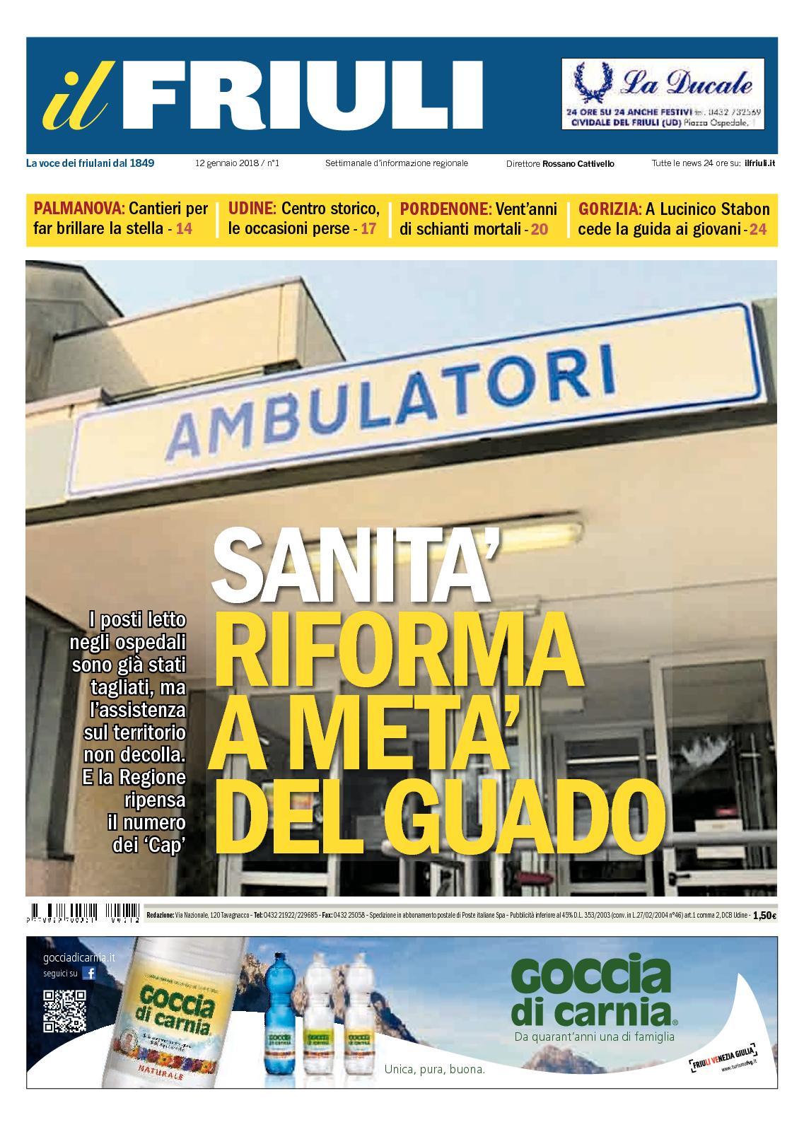 Calaméo - Il Friuli N01 12012018 9d894fe082