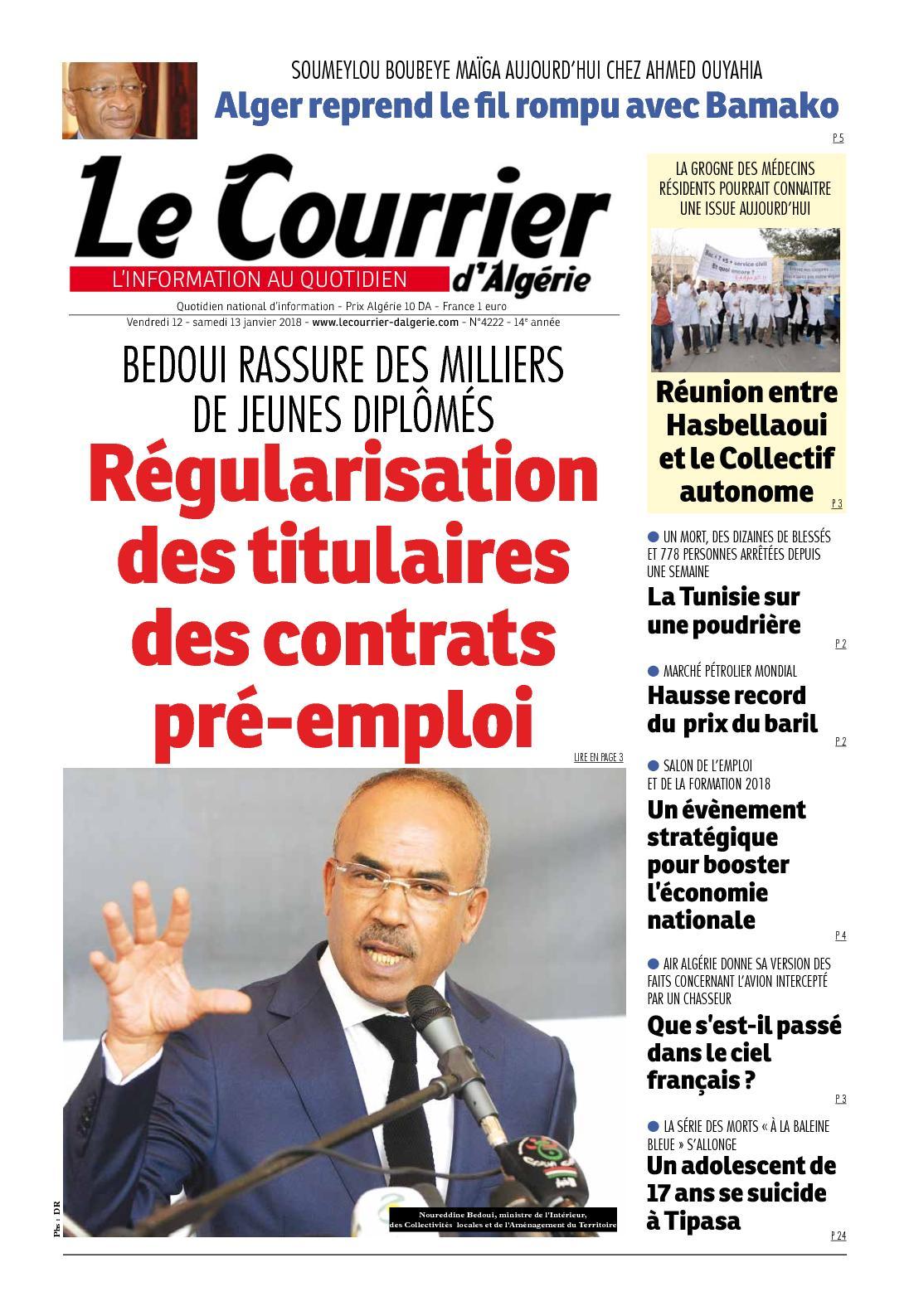le prix de l en algerie aujourd hui