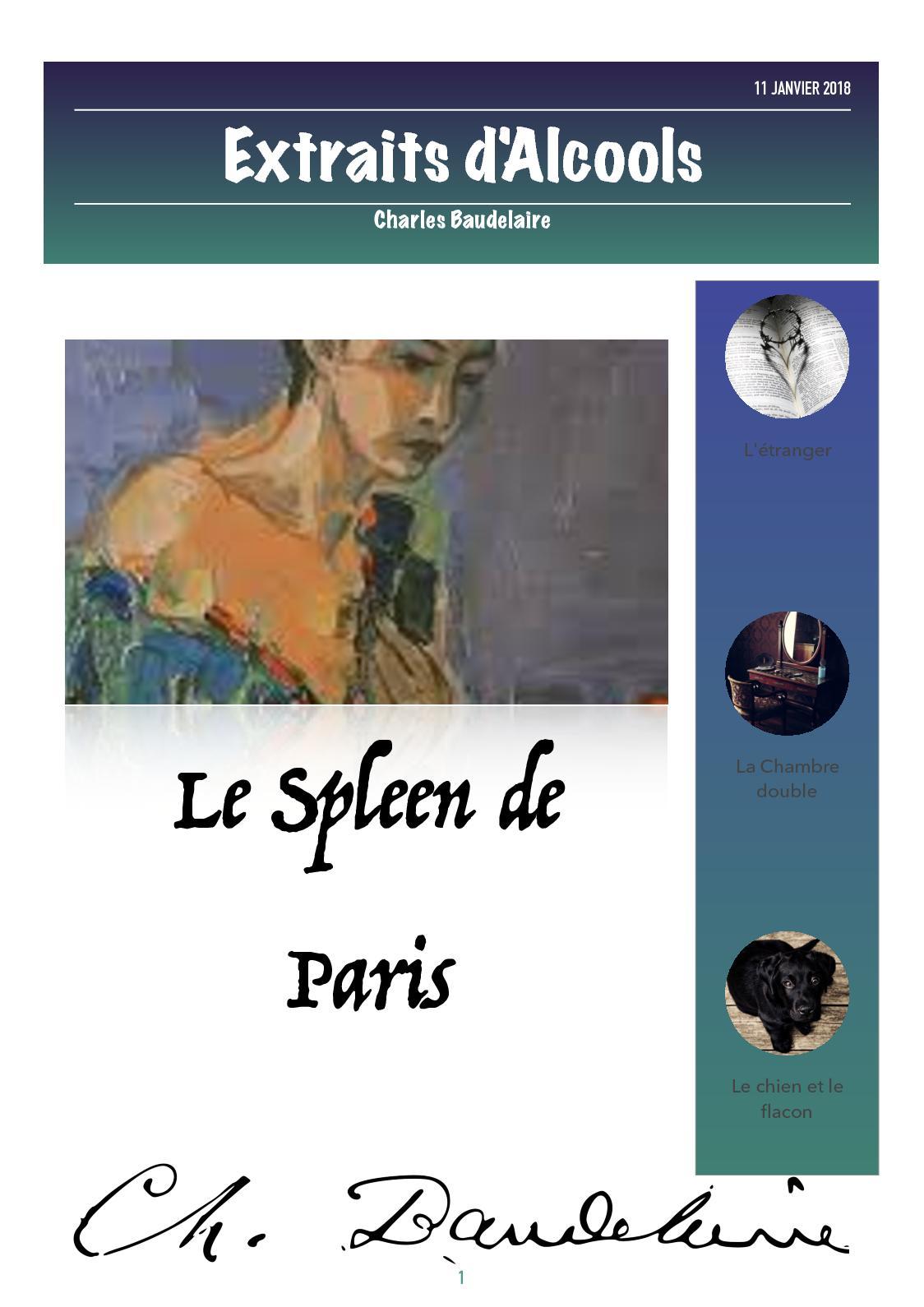Calaméo - Spleen De Paris Amélie