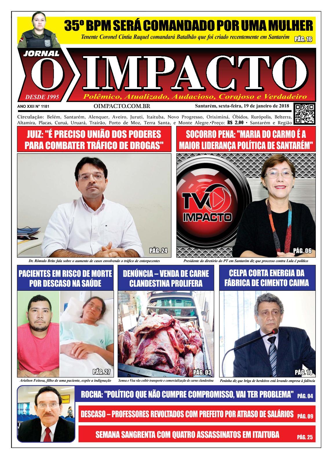 Jornal O Impacto Ed. 1181