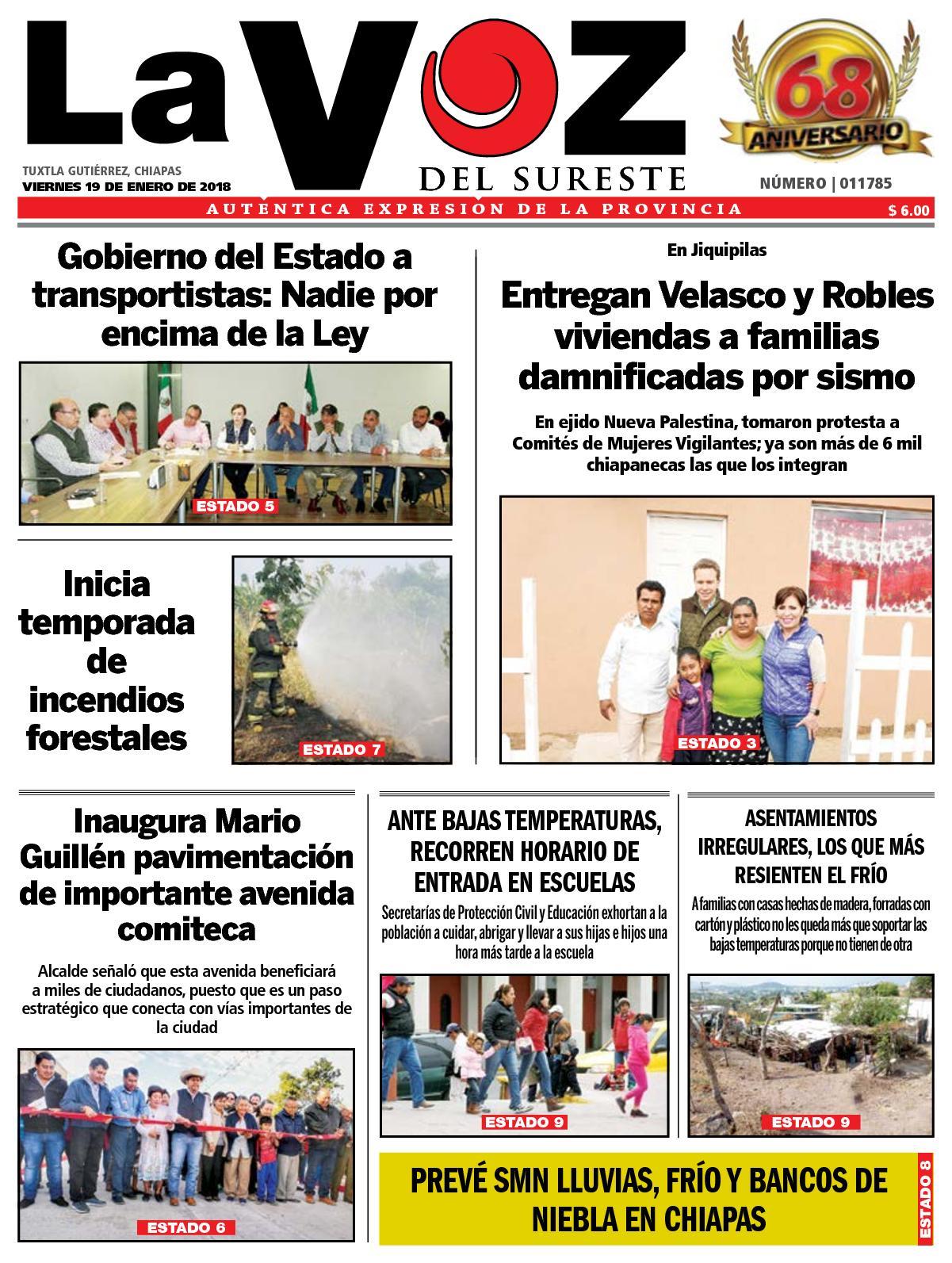 Sureste La Diario Voz Del Calaméo wIF7UqxpnF