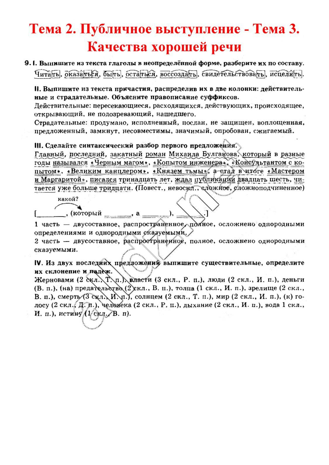 Русский язык 11 класс давидюк скачать