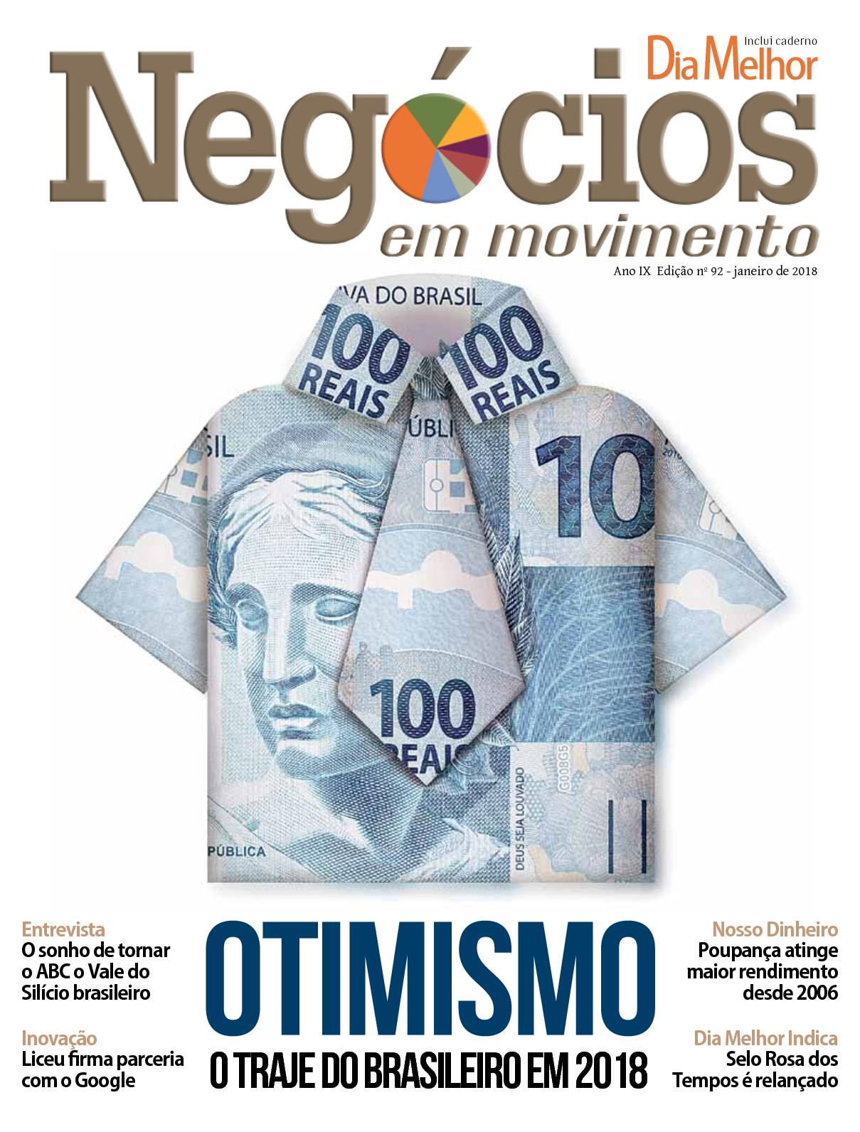 Negócios em Movimento ed 92 - Janeiro/18