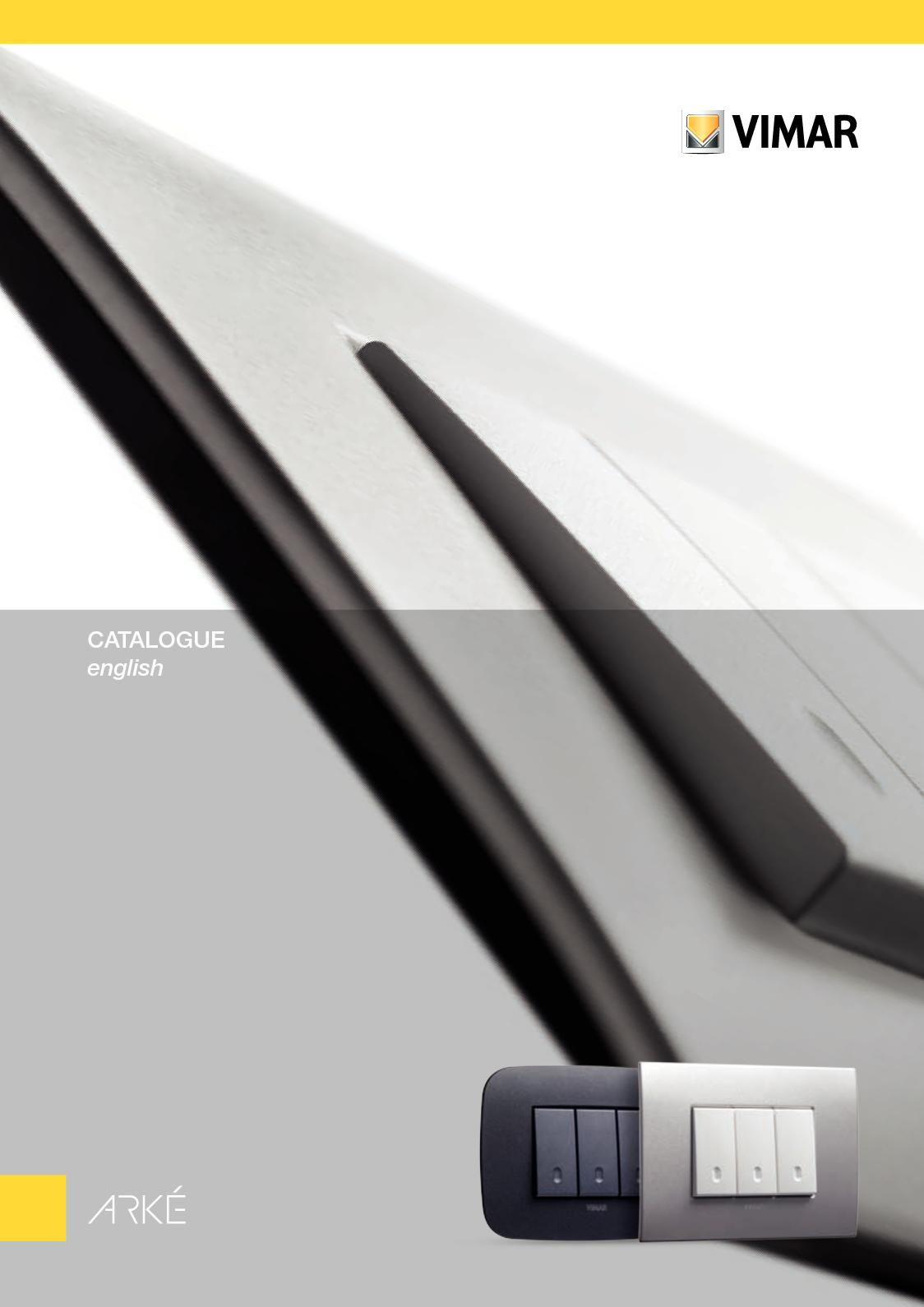 Calamo Arke Catalog Vimar 4 Way Switch