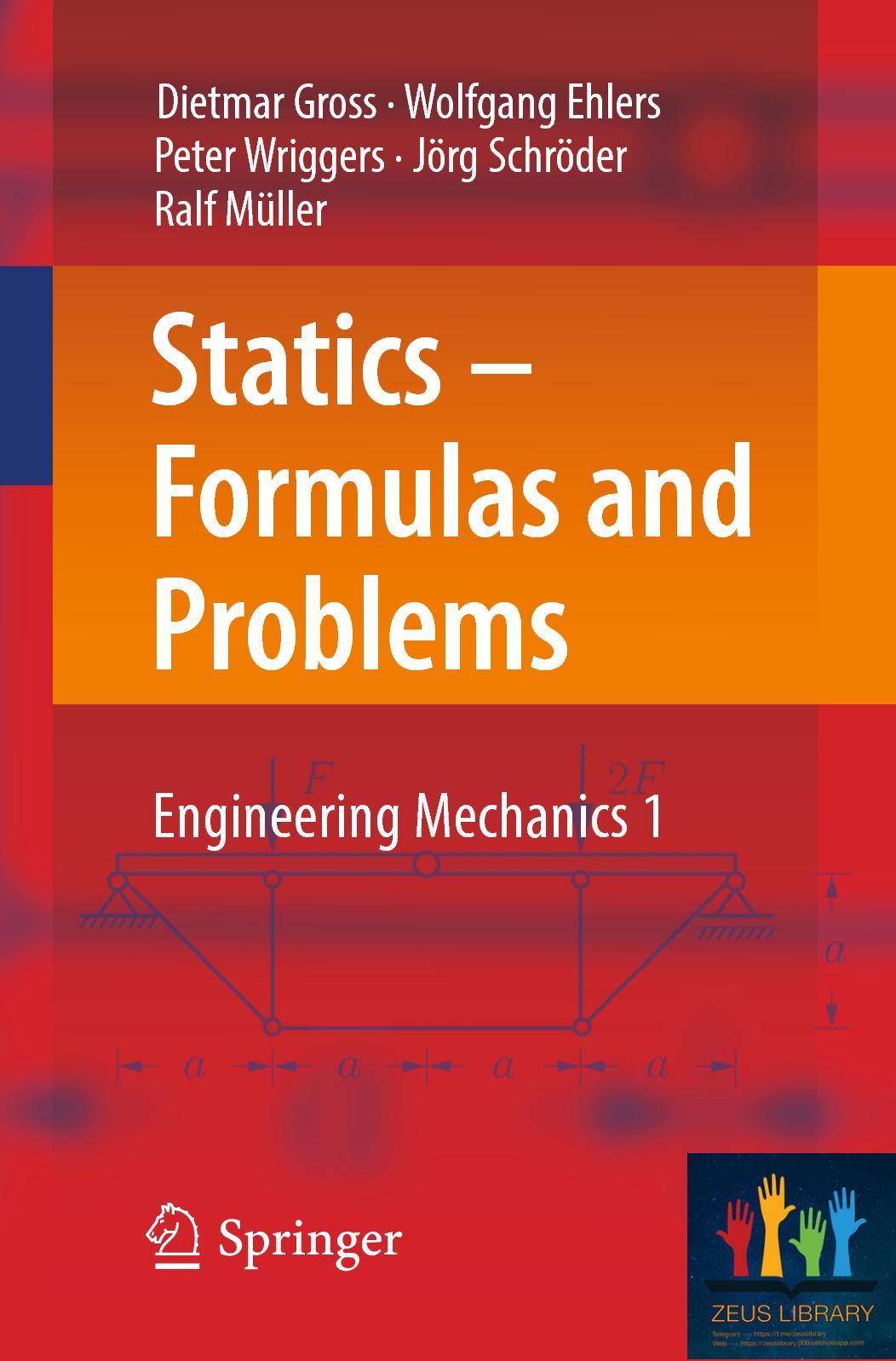 [Gross] Statics Formulas And Problems Engineering Mechanics 1 2017s