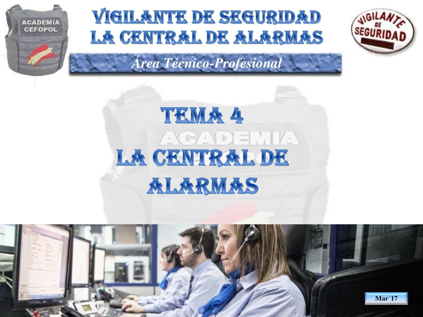 Tp04 10 La Central Receptora De Alarmas