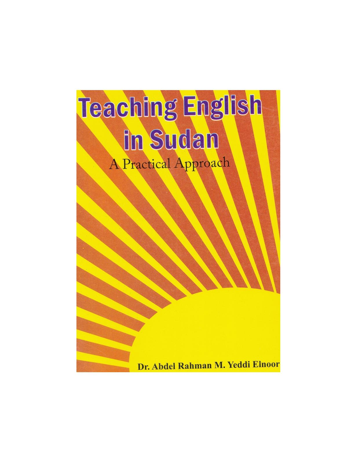 Teaching English In Sudan: A Practical Approach