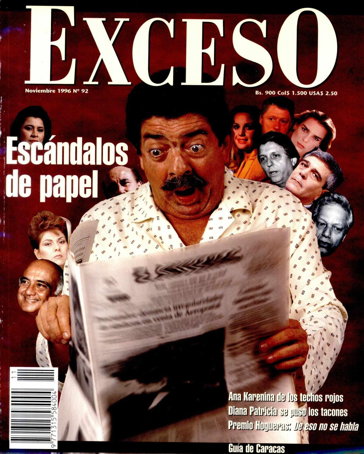 Calaméo - REVISTA EXCESO NOVIEMBRE 1996 Nº 92
