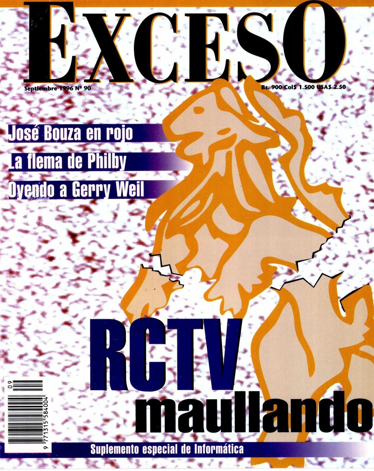Calaméo - REVISTA EXCESO SEPTIEMBRE 1996 Nº 90