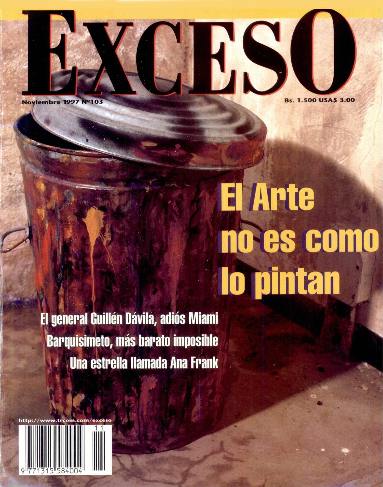 Calaméo - REVISTA EXCESO EDICIÓN Nº 103 NOVIEMBRE 1997