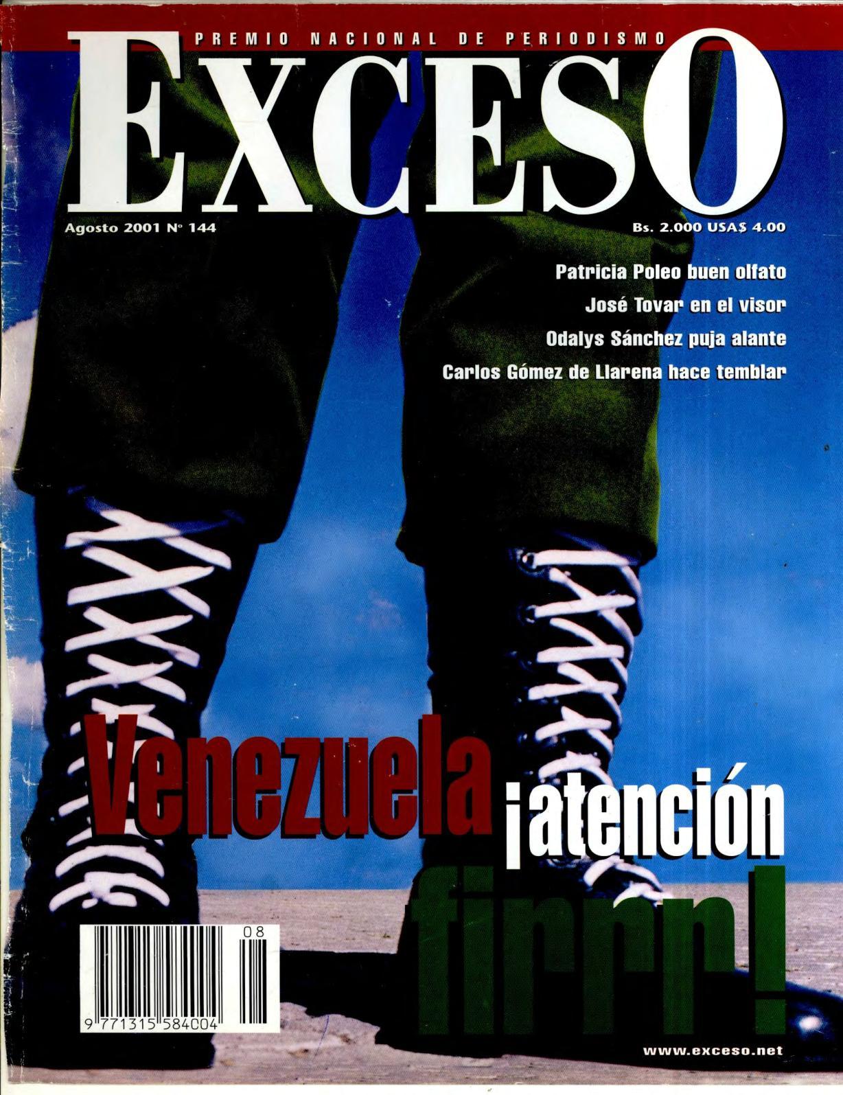 a16b924c9221a Calaméo - REVISTA EXCESO EDICIÓN Nº 144 AGOSTO 2001