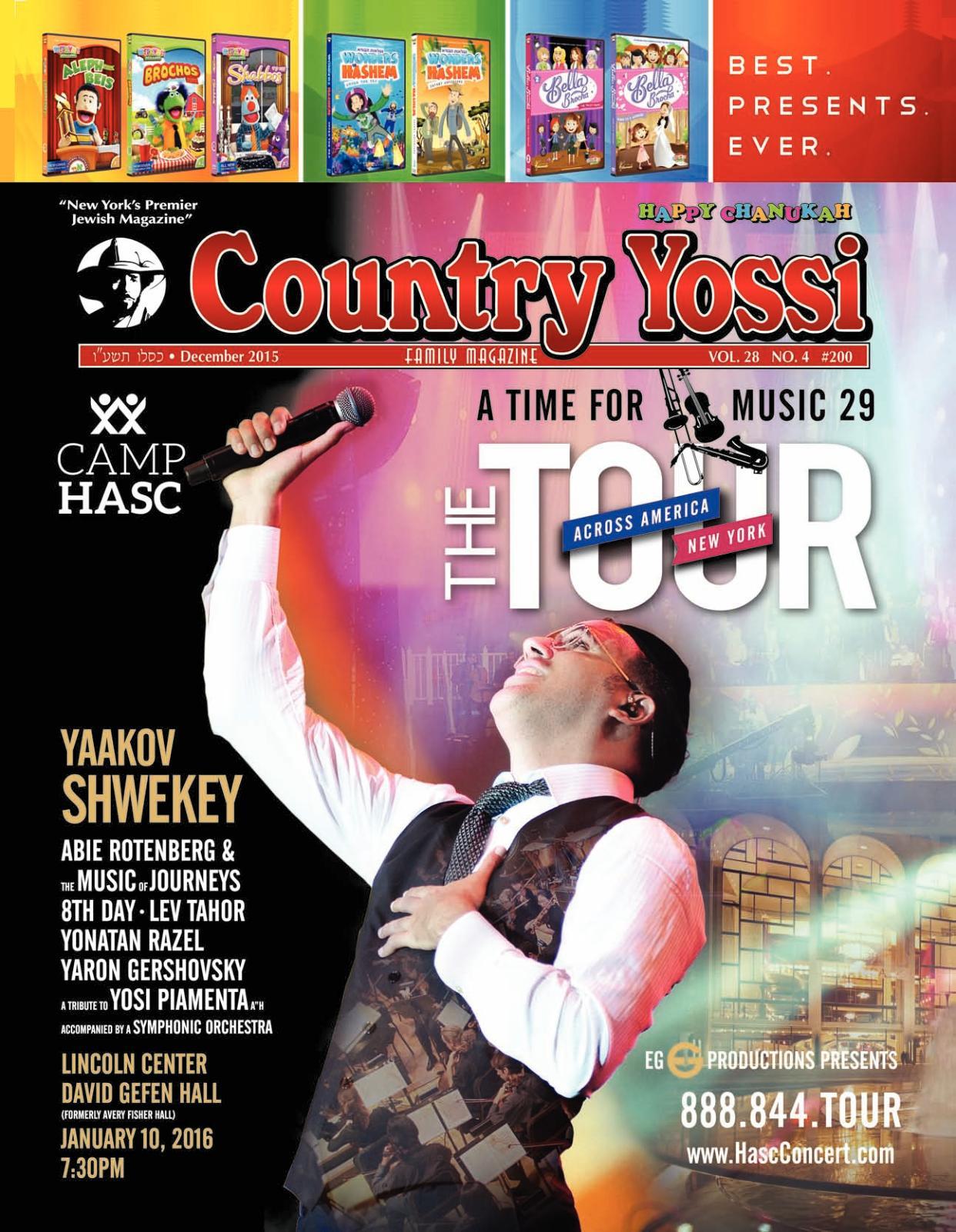 Calaméo - Country Yossi Family Magazine #200