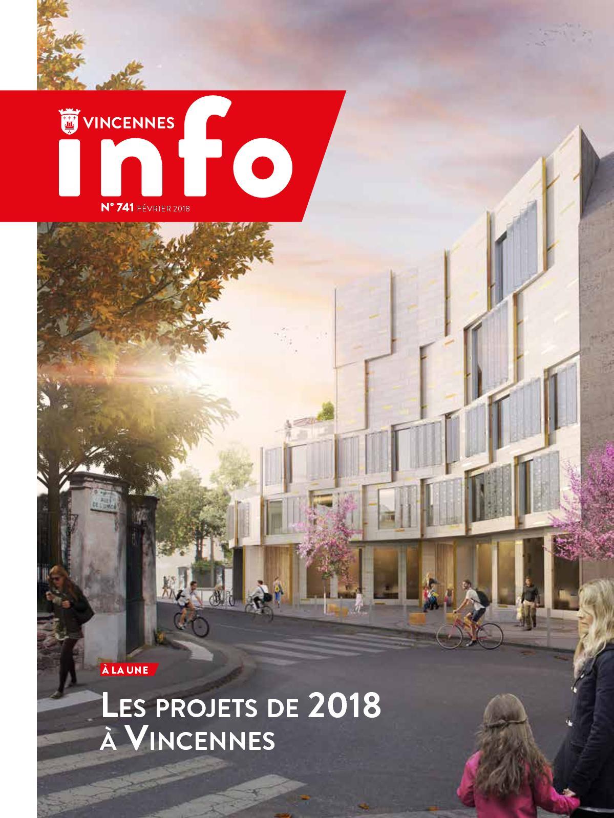 Calameo Vincennes Info N 741 Fevrier 2018